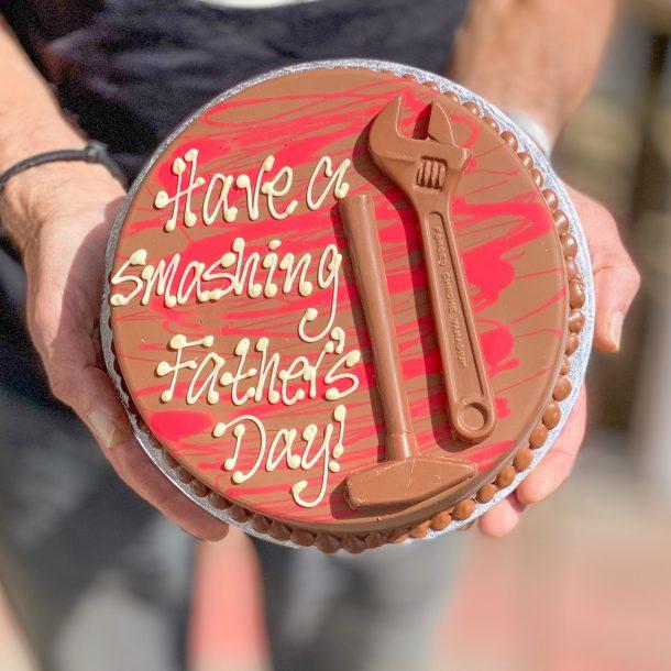 Personalised Belgian Chocolate Toolbox Smash
