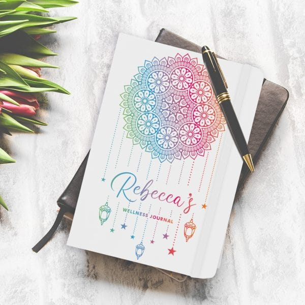 Personalised Dream Catcher A5 Notebook