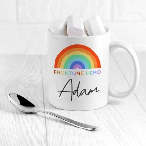 Personalised Frontline Hero Coffee Mug
