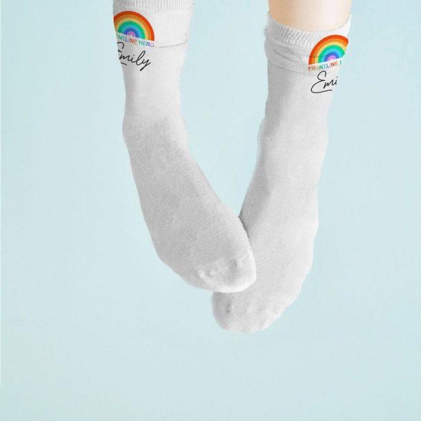 Personalised Frontline Hero Socks
