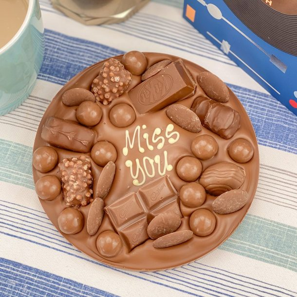 Personalised Letterbox Chocolate Hug