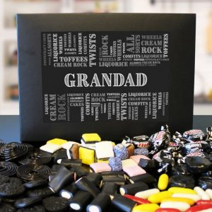 Personalised Liquorice Sweet Collection