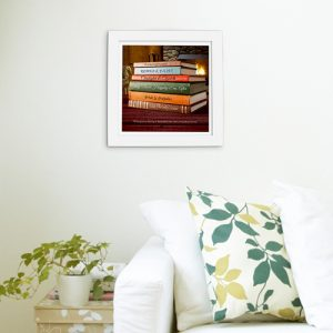 Personalised Love Story Framed Print