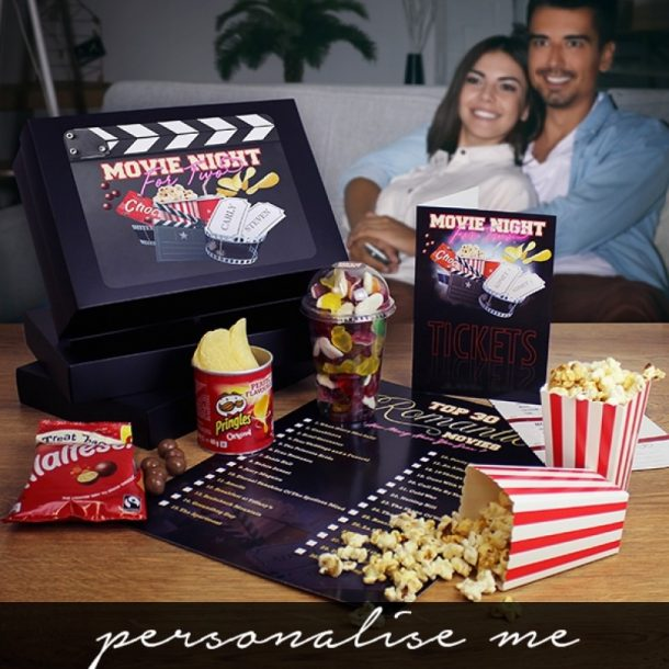 Personalised Movie Night For Two Gift Set