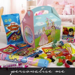 Personalised Princess Sweet Box