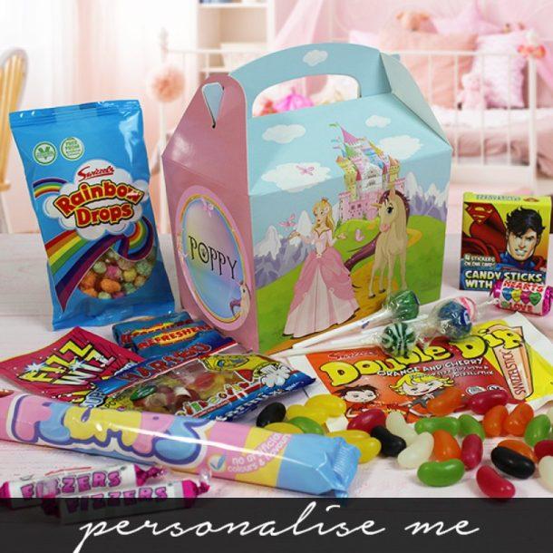 Personalised Princess Sweet Box