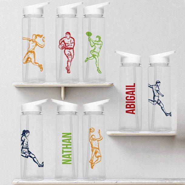 Personalised Sports Water Bottle