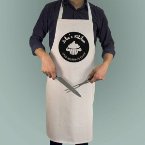 Personalised Stud Muffin Apron