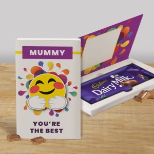 Personalised You're The Best Cadbury's Chocolate Bar Card
