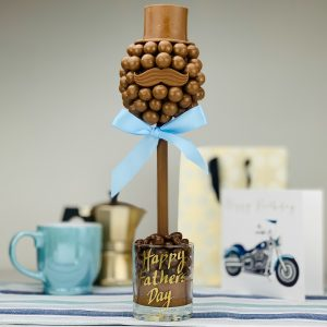 Personalised malteser Hat And Moustache Sweet Trees