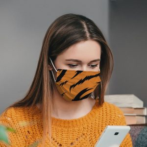 Tiger Printed Face Mask
