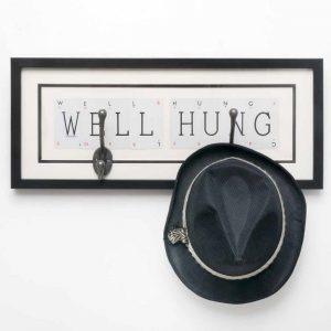 Well Hung Vintage Card Frame