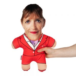 Air Hostess Red Mini Me Personalised Doll