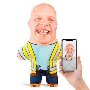 Builder Mini Me Personalised Doll