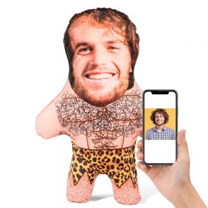 Cave Man Mini Me Personalised Doll