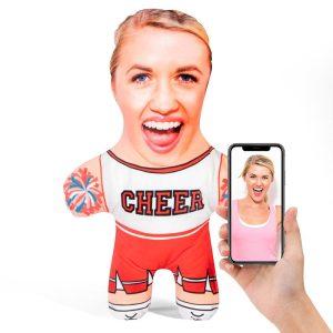 Cheerleader Mini Me Personalised Doll