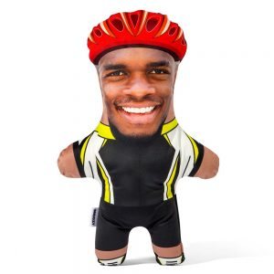 Cyclist Mini Me Personalised Doll