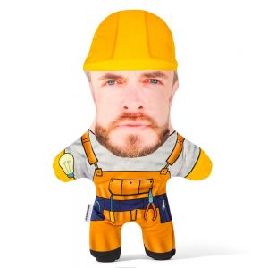 Domestic Builder Mini Me Personalised Doll