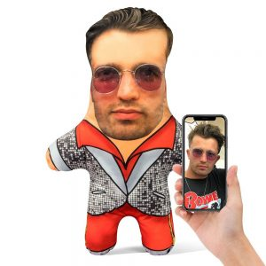 Elton John Mini Me Personalised Doll