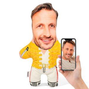 Freddie Mercury Mini Me Personalised Doll