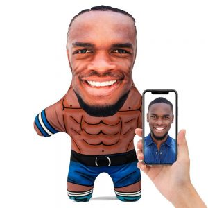 Gym Hunk Mini Me Personalised Doll