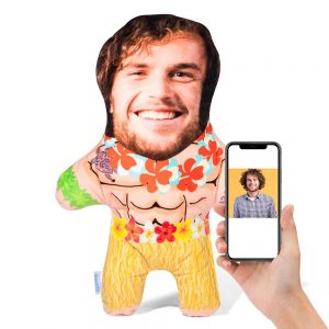 Hula Hawaiian Man Mini Me Personalised Doll