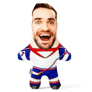 Ice Hockey Mini Me Personalised Doll
