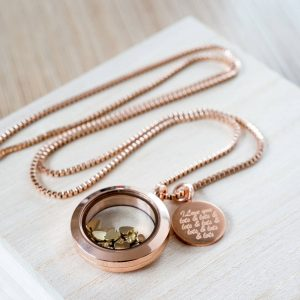 Love You Lots Necklace & Personalised Gift Box