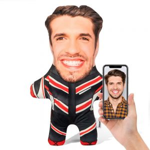 Motorcyclist Mini Me Personalised Doll