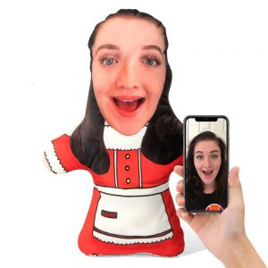 Mrs Claus Mini Me Personalised Doll