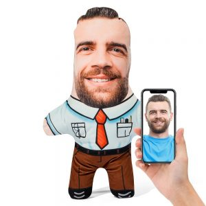 Office Worker Mini Me Personalised Doll