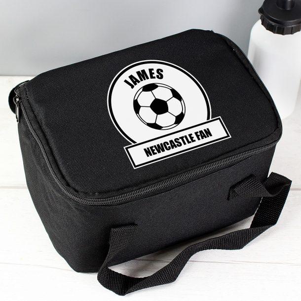 Personalised Football Fan Lunch Bag