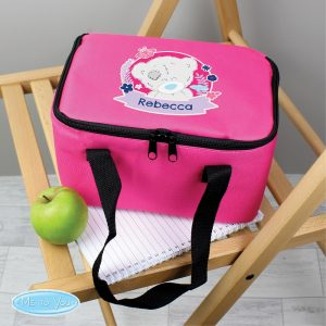 Personalised Me To You Pink Lunch Bag
