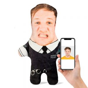 Policeman Mini Me Personalised Doll