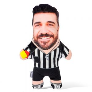 Referee Mini Me Personalised Doll