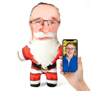 Santa Claus Mini Me Personalised Doll