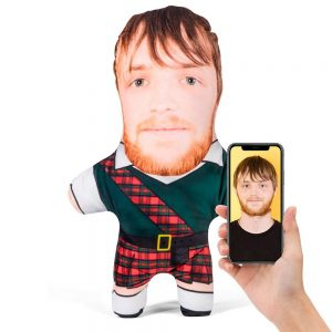 Scotsman Mini Me Personalised Doll
