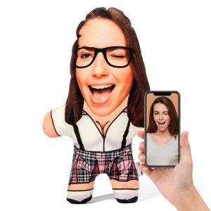 Sexy Geek Lady Mini Me Personalised Doll