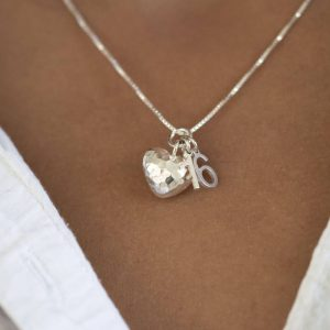 Special Milestone Necklace & Personalised gift Box