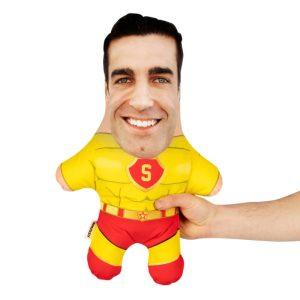 Super Hero Man Mini Me Personalised Doll