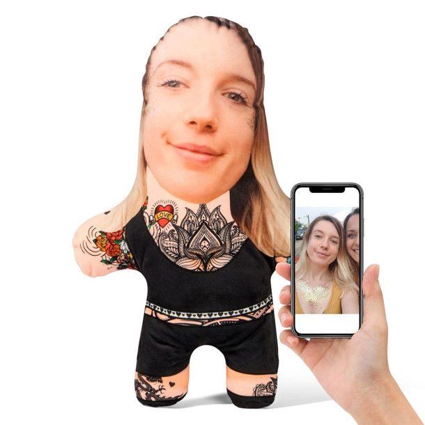 Tattoo Female Mini Me Personalised Doll