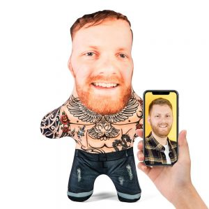 Tattoo Male Mini Me Personalised Doll