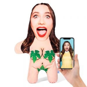Woman Naturist Mini Me Personalised Doll