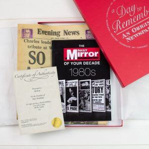 Original Newspaper & 1980's Decade Book