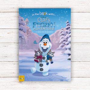 Personalised Olaf's Adventure Softback Book
