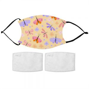 Kids Butterfly Pattern Face Mask