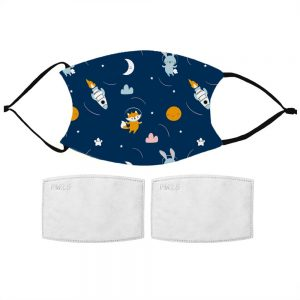 Kids Space Adventure Face Mask