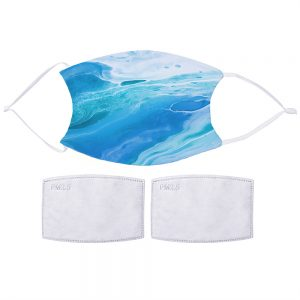 Ocean Watercolour Face Mask