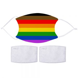 Pride Flag Face Mask