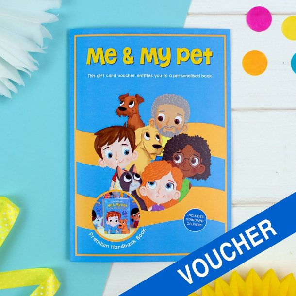 Me and My Pet Avatar Book Voucher